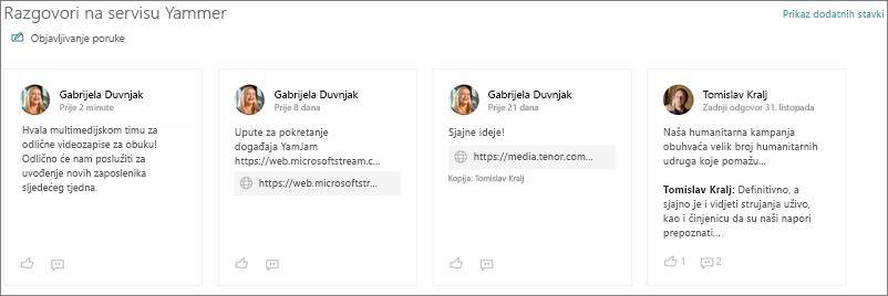 Web-dio za razgovore