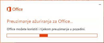 Preuzimanje ažuriranja za Office