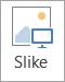 Prikazuje gumb slike u grupi ilustracije
