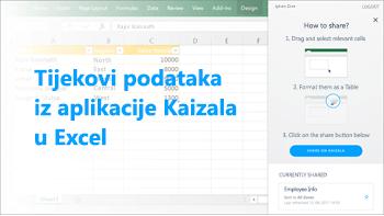 Snimka zaslona: Tablicu objaviti s podacima iz upitnika