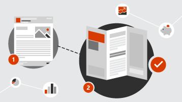 Simboli za newsletter i brošuru