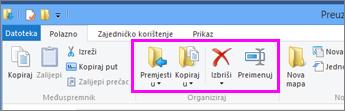 Otvorite mapu u kojoj se nalazi preuzeta datoteka.