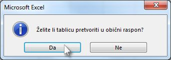 Confirmation dialog box