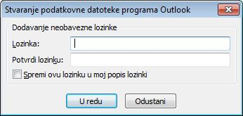RSS sadržaji u programu Outlook