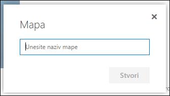 Novi naziv mape biblioteke dokumenata