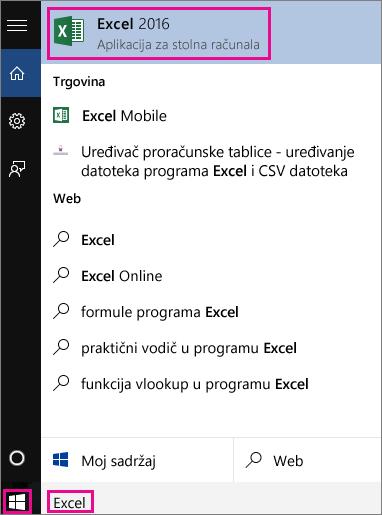 Pokrenite pretraživanje sustava Windows 10 u potrazi za aplikacijama ili na webu