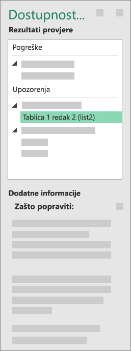 Grupa Dodatne informacije