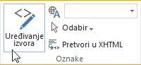 Uređivanje izvora na javnom web-mjestu sustava SharePoint Online