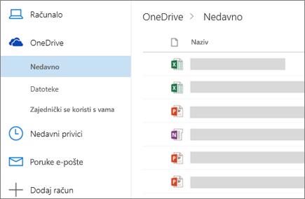Zajedničko korištenje datoteka u programu Outlook na webu