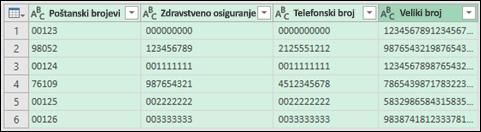 Get & Transform > Convert data to text