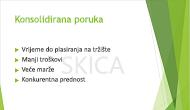 """Primjer tekstnog vodenog žiga, """"SKICA"""", koristi se kao pozadina slajda programa PowerPoint"""