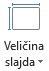 Ikona veličina slajda
