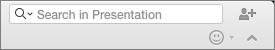 Pretraživanje u okvir prezentacije