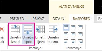 Odabir postojećeg popisa primatelja