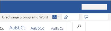 Uređivanje u programu Word