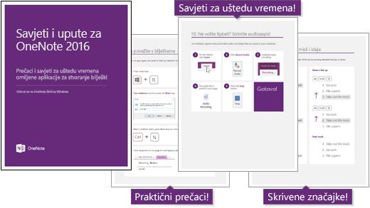 Ikona: korisni Savjeti o programu OneNote 2016