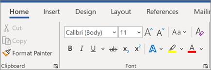 Dodavanje i oblikovanje teksta u programu Word