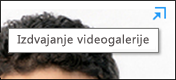 Izdvajanje videogalerije