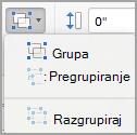 Grupiranje objekata
