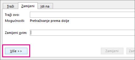 Gumb Više