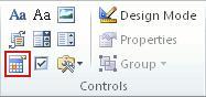 Kontrola sadržaja alata za odabir datuma