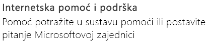 """Internetska pomoć i Popratna"" za PowerPoint na telefonu sa sustavom Android"