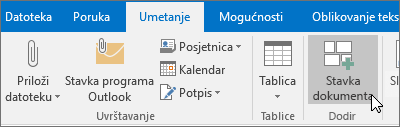 outlook nova pošta