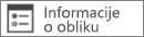 Naredba Informacije o obliku