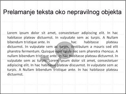 slajd sa slikom i prekrivajući tekst.