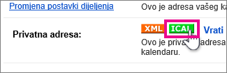 Google kalendar – stvaranje privatne iCal datoteke