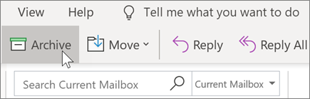 Arhiviranje poruke e-pošte