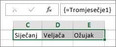 Imenovana konstanta iskorištena u formuli polja
