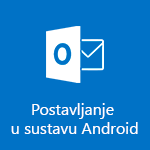 Postavljanje aplikacije Outlook za Android