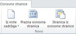 Dodavanje stranica u SharePoint Designer 2010