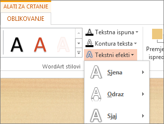 Oblikovanje teksta