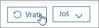 Vratite korisnika u sustavu Office 365.