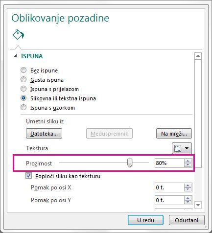 Pregled ispisa u pregledniku Firefox