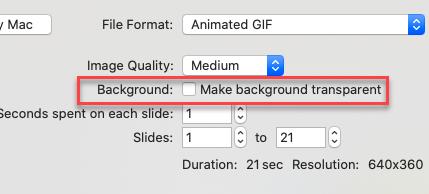 Make background trasnparent
