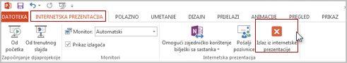 Završavanje internetske prezentacije