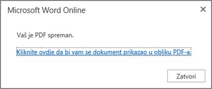 Kliknite da biste pogledali PDF