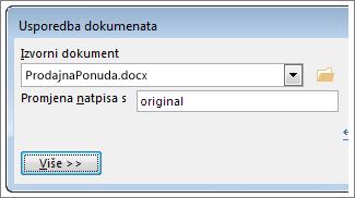 okvir izvorni dokument