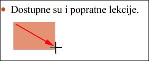 Determine the upper left point of the rectangle, and the drag the cursor down and to the right.