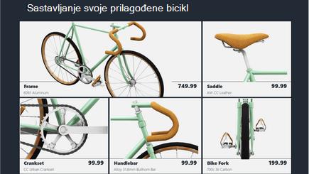 Konceptualna slika predloška za 3D katalog