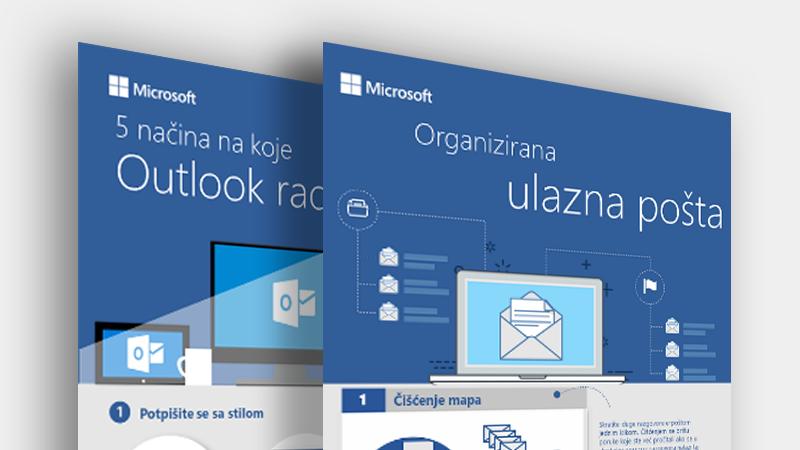 Preuzmite te infografike za Outlook