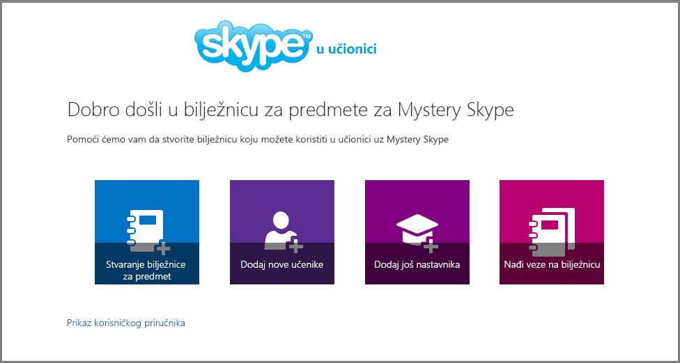 Dobro došli u Mystery Skype