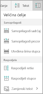 Mogućnosti Samoprilagodi Mobile za Windows