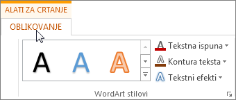 Kartice Alati za crtanje i Oblikovanje