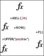 funkcije programa excel