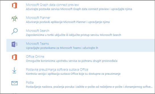 Usluge i programskih dodataka
