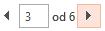 S jedne na drugu stranicu u pretpregledu ispisa možete prelaziti pomoću strelica pri dnu okna Pretpregled.